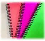 Spiralbøger i neon